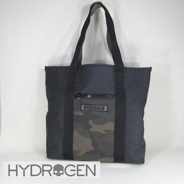 ハイドロゲン HYDROGEN バッグ メンズ トートバッグ ハンドバッグ 肩掛け EG0010 / 7 / ブラック/カモフラ