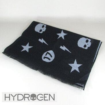 ハイドロゲン HYDROGEN マフラー ウールマフラー メンズ レディース ストール 233100 / 007 / ブラック