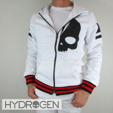 ハイドロゲン HYDROGEN パーカーパーカー ジップアップ パーカー スウェット メンズ 230642 / 001 / ホワイト サイズ:S〜XXL