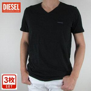 ディーゼル DIESEL メンズ トップス 半袖 Tシャツ カットソー SPDM AALW / 900 / ブラック 黒 サイズ:S/M/L