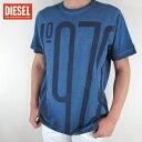ディーゼル DIESEL メンズ トップス半袖 Tシャツ カットソー T-JOE-NF / 8AT / ネイビー サイズ:L