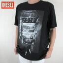 ディーゼル DIESEL メンズ トップス半袖 Tシャツ カットソー T-JOE-OA / 900 / ブラック サイズ:3XL