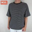 ディーゼル DIESEL メンズ トップス半袖 Tシャツ カットソー T-SOME MAGLIETTA / 900 / ブラック サイズ:L