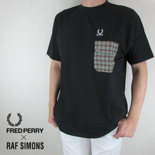 トップス, Tシャツ・カットソー  FRED PERRYRAF SIMONS T SM4103 102 3642