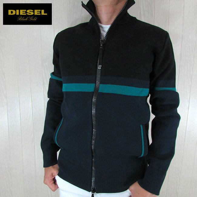 ディーゼル ブラックゴールド DIESEL BLACK GOLD メンズ スウェット トラックジャケット ジップアップ KIRO / 86UA / ネイビー 紺 サイズ:M/L/XL