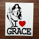 全20色 I LOVE GRACE(グレイス) I LOVE SEXY カッティングス...