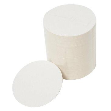【送料無料】 丸型 紙コースター 直径90mm 厚さ1.0mm ( 100 枚 ) 使い捨て スタンプ 等で オリジナルコースター に! 業務用 に最適! ポイント消化 買い回り