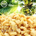 【送料無料】焼きココナッツ 100g 無添加 南国の美容フルーツ ココナッツ 果物 サプリメント 中鎖脂肪酸 ビタミンB1 B6 食物繊維 葉酸 おやつ おつまみ ポイント消化 Rich Life その1