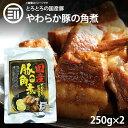 【送料無料】 やわらかとろとろ 豚角煮 500g (250g