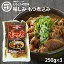 【送料無料】 九州の味 とろとろ もつ煮込み 250gx3パック 国内製造 もつ