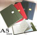 ショットノート メモパッドL対応 手帳カバー2冊収納できるノートカバー A5タテ キングジム