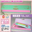 かわいい筆箱 小学生女子に人気 緑とピンクのツートンカラー