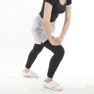 ひざや腰をしっかりサポートするテーピングスパッツマジックウォーキング10分丈M・L・LL・3Lサイズ