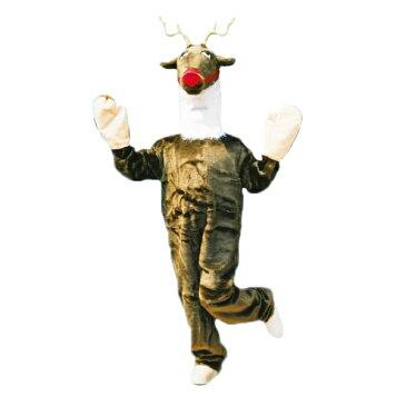 着ぐるみ トナカイ スーツ【お取寄せ対応 納期:受注後4日-3週間 大人用 動物 となかい 赤鼻 ルドルフ 仮装 コスプレ ハロウィン クリスマス イベント】マジックナイト OS10549