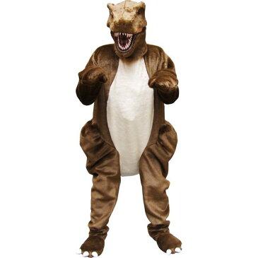 着ぐるみ T-REXスーツ 恐竜【お取寄せ対応 納期:受注後4日-3週間 大人用 動物 ティラノサウルス 仮装 コスプレ ハロウィン イベント】大型荷物 ヤマト一般便利用 マジックナイト OS53294