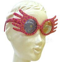 スペクトルスペックスメラメラメガネルーナ・ラブグッド【ハリーポッター公式グッズハロウィン眼鏡仮装ハリポタコスプレ】定形外発送可1p340円マジックナイトRB200393