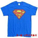 スーパーマン Classic ロゴ【半袖 Tシャツ SUPERMAN DCコミックス アメコミ】S M L サイズ 送料一律590円 ネコポス可 マジックナイト SM259AT