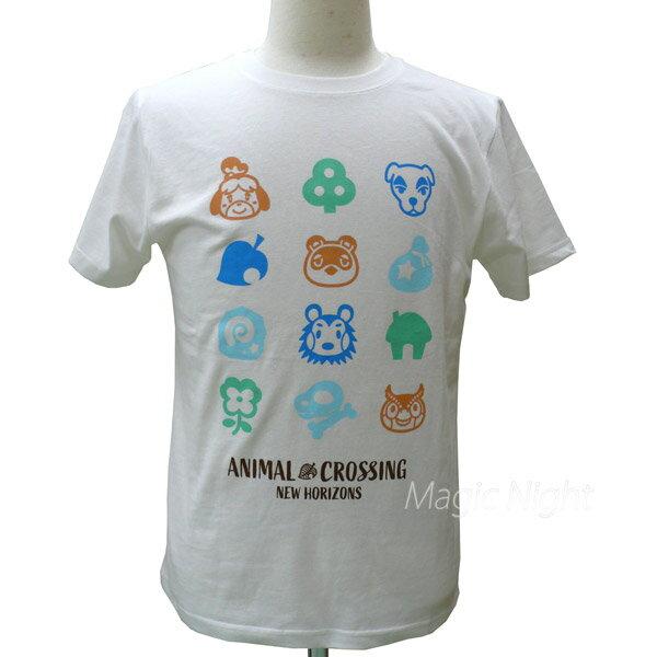 トップス, Tシャツ・カットソー T ANIMAL CROSSING T S M L LL AD3137WH