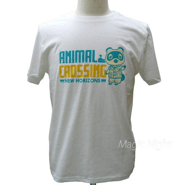 トップス, Tシャツ・カットソー T ANIMAL CROSSING T S M L LL AD3138WH