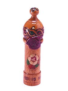 ダマスクローズエッセンシャルオイル 木彫り