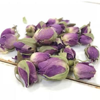 食用バラの花のつぼみダマスクローズ 10g【2個までメール便可】