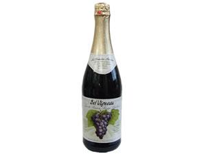 ノンアルコール スパークリングワイングレープジュースBel Vigneau ベルビニョー 赤 750ml