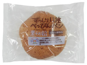 べっぴんパン黒千石餡