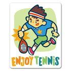 テニススマッシュ男性【ENJOYTENNIS】