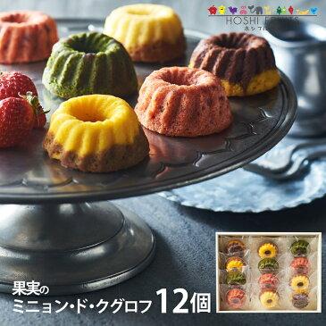 ホシフルーツ 果実のミニョン・ド・クグロフ 12個 HFMK-12 (-90016-05-) (個別送料込み価格) (t3)   内祝い ギフト お菓子 人気 出産内祝い 結婚内祝い 快気祝い