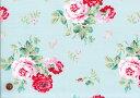 【ハーフカット巾】Cath Kidston キャスキッドソン・シーチング生地(約105cm巾)<Antique Rose ...