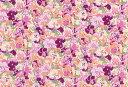 LIBERTYリバティプリント・国産つや消しラミネート(ビニールコーティング生地)西宮阪急限定コレクション<Mimosa>(ミモザ)MATLAMI3635115S-J17A