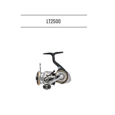 フィッシング, リール 2 20 FC LT2500 DAIWA LUVIAS