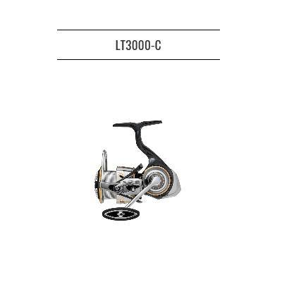 フィッシング, リール  20 LT3000-C DAIWA LUVIAS