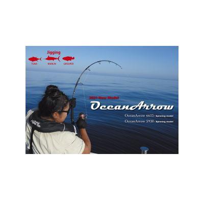 フィッシング, ロッド・竿 6 6615 Ripple Fisher Ocean Arrow 6615