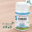 イチョウ ギンコ 45粒 サプリ エクレクティックイチョウ葉 イチョウ葉エキス ギンコフラボノイド オーガニック サプリメントフリーズドライ 100%ナチュラル 正規品