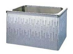 【最安値挑戦中!SPU他7倍〜】クリナップ 浴槽 SDL-102AW(R・L) モダンブロック・ステンレス浴槽 間口100cm 据置式2方全エプロン [♪△]:まいどDIY