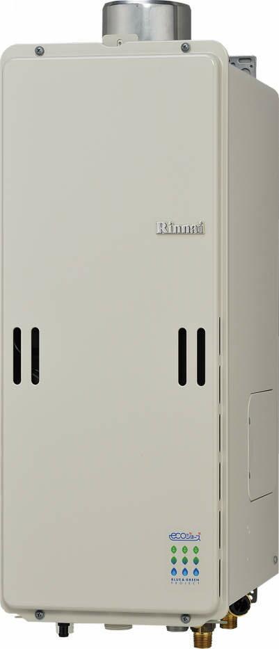 【最安値挑戦中!最大25倍】ガス給湯器 リンナイ RUF-SE2010AU 設置フリータイプ エコジョーズ ユッコUF 20号 フルオート PS上方排気型 15A [≦]