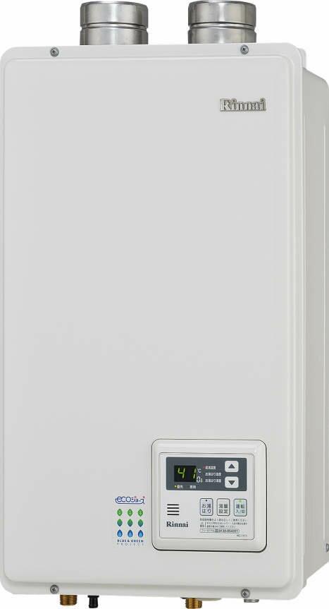 【最安値挑戦中!最大25倍】ガス給湯器 リンナイ RUX-E1610FFU 給湯専用タイプ ユッコ 16号 FF方式・屋内壁掛型 15A [■]