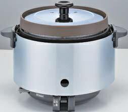 業務用ガス炊飯器 リンナイ RR-S20SF(A) 卓上型 普及タイプ 涼厨 コンパクト45 内釜フッ素仕様 3.6L(2升) [♪■【店販】]
