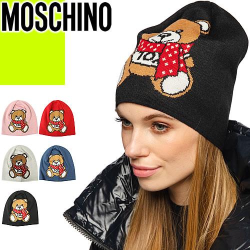 レディース帽子, ニット帽  MOSCHINO 2020 M2334 65223