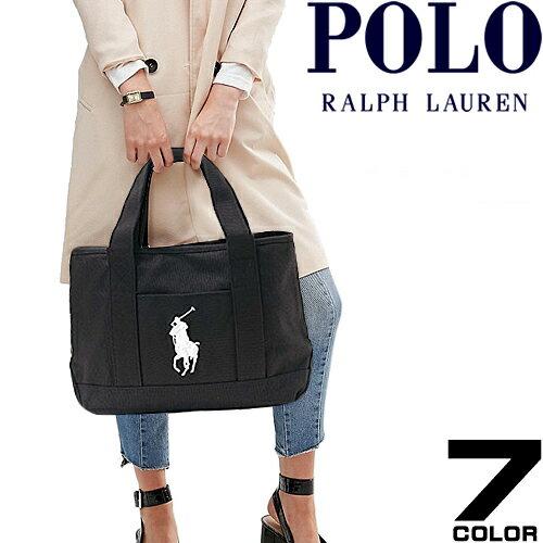 ポロ ラルフローレン トートバッグ Polo Ralph Lauren ビッグポニー キャンバス トート バッグ Sch...