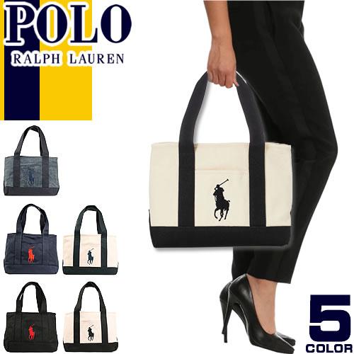 [最終SALE11,880円→6,290円] ポロ ラルフローレン トートバッグ Polo Ralph Lauren ビッグポニー ...