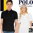 ポロ ラルフローレン ポロシャツ 半袖 メンズ レディース ブランド かわいい 大きいサイズ 白 ホワイト 黒 ブラック 紺 ネイビー Polo Ralph Lauren [メール便発送]