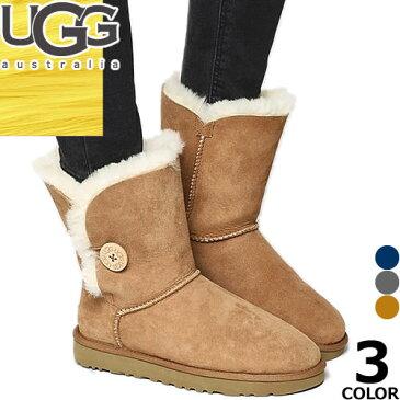 UGG アグ ムートンブーツ ベイリーボタン 正規品 レディース スノーブーツ BAILEY BUTTON 5803 防滑 防寒 雪 靴 滑らない