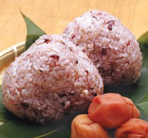 Popular millet trio ♪ rice and black rice & adlay