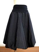 キュート おしゃれ バルーン スカート ブラック