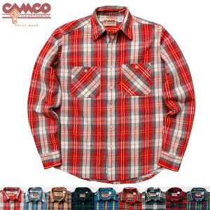 CAMCO【カムコ】カムコネルシャツネルシャツフランネルシャツワークシャツ長袖シャツメンズXS-LL(XL)【ご予約品:2012年9月上旬〜9月下旬ごろお届け】【smtb-m】