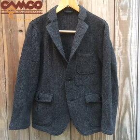 送料無料CAMCO【カムコ】ツイード3Bウールテーラードジャケットメンズ(男性用)【smtb-m】