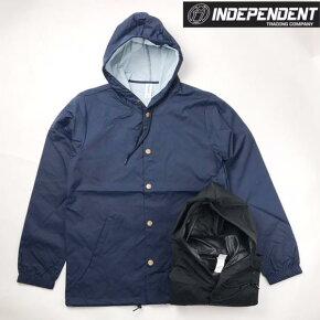 INDEPENDENTTRADING【インディペンデントトレーディング】ナイロンフードジャケットウインドブレーカー