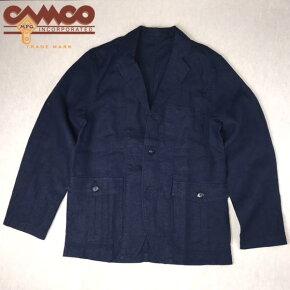 送料無料CAMCO【カムコ】リネンテーラードジャケットメンズ(男性用)【smtb-m】